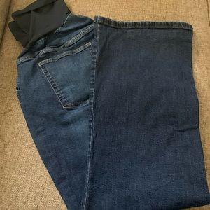 Plus Size, Secret Fit Belly Maternity Jeans